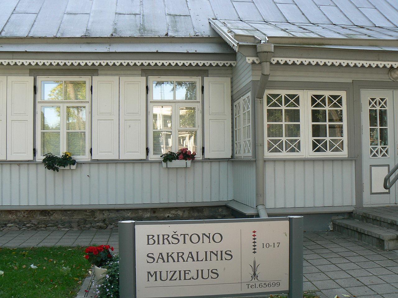 The Birštonas Museum of Sacral Art in Lithuania