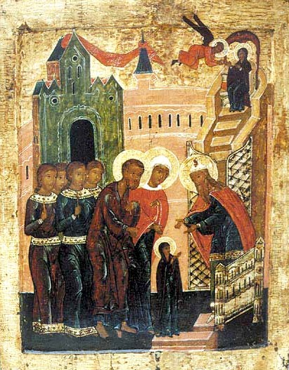 Christian Icons of the Presentation of the Blessed Virgin Mary