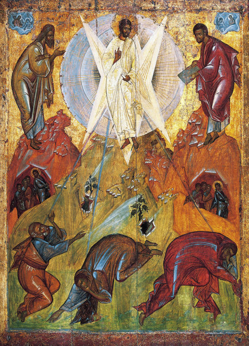 Christ Icons of the Transfiguration