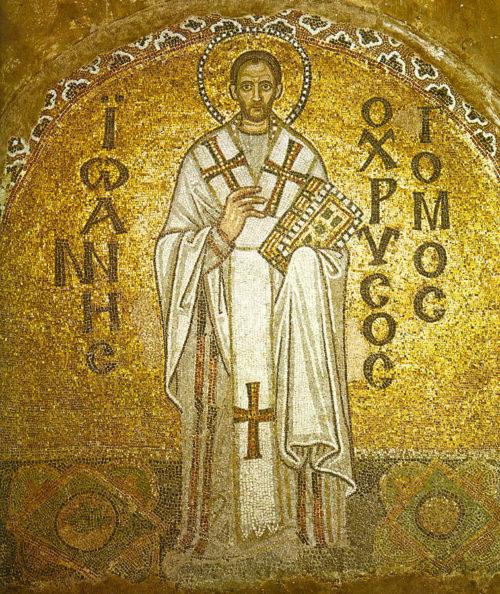 John Chrysostom in Christian Sacral Art