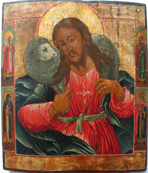 "Icons of Jesus Christ ""The Good Shepherd"""