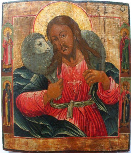"Icons of Jesus Christ ""The Good Shepherd"""