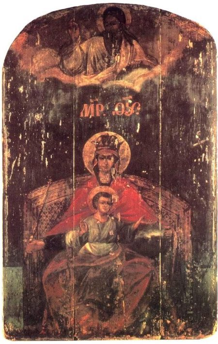 Russian Icons of Our Lady Derzhavnaya (Русские иконы)