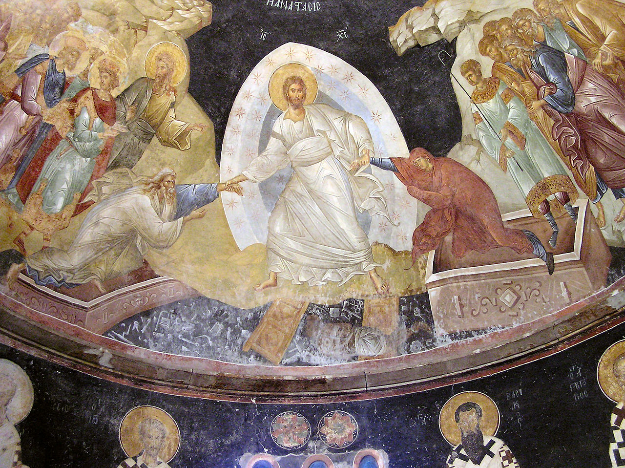 The Resurrection Icon, or the Harrowing of Hades