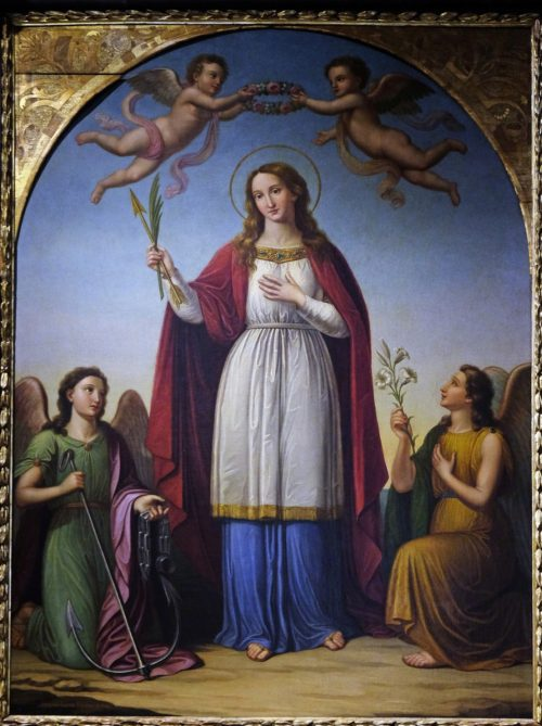 The Story of the Christian Martyr Saint Philomena