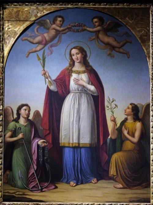 The Story of the Christian Martyr Saint Philomena