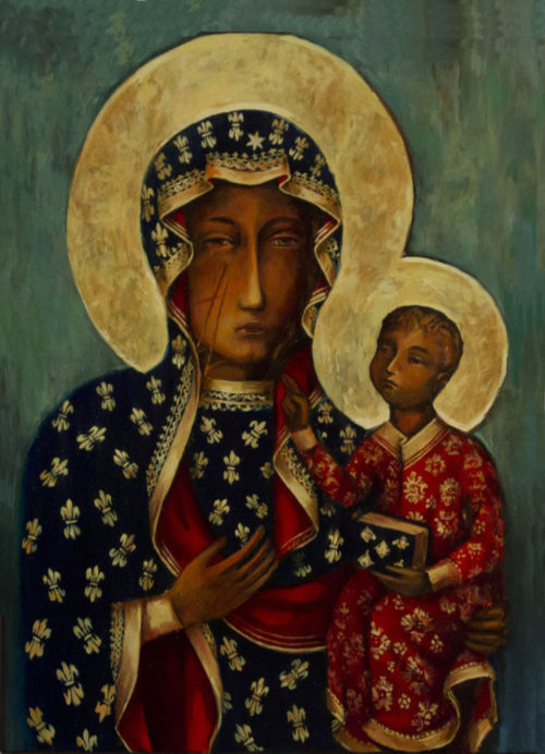 Monastery Icons: The Black Madonna of Czestochowa