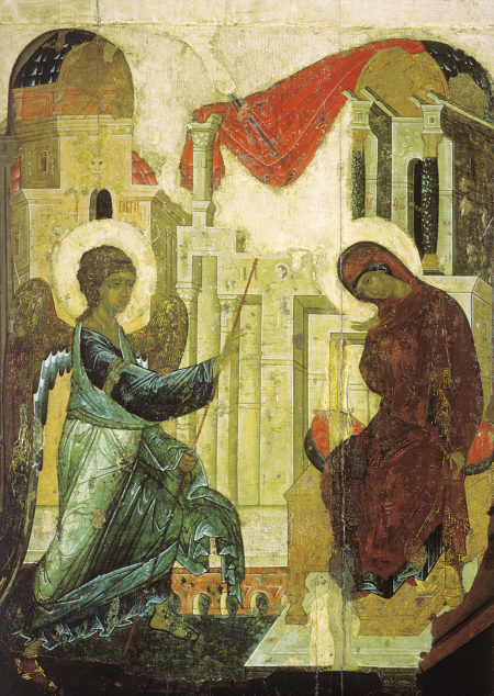 Orthodox Icons of the Annunciation