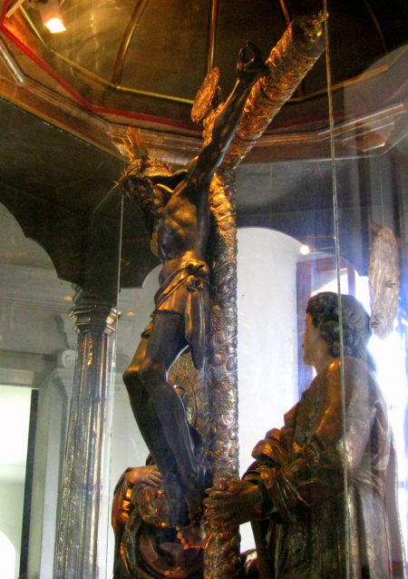 The Black Christ of Esquipulas from Guatemala