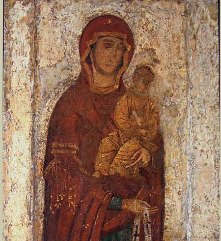 The Famous Icon of the Mother of God of Maximov