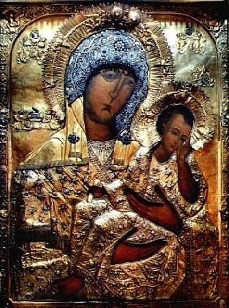 Antique Russian Icons: The Staro Rus Icon of the Mother of God