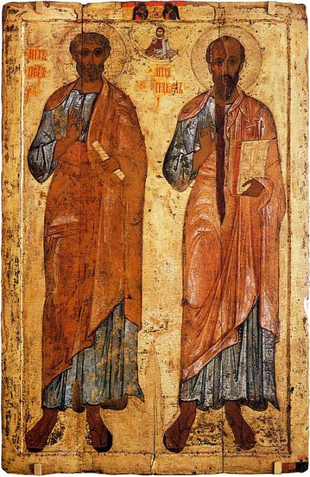 Christian Icons of Saints Peter and Paul