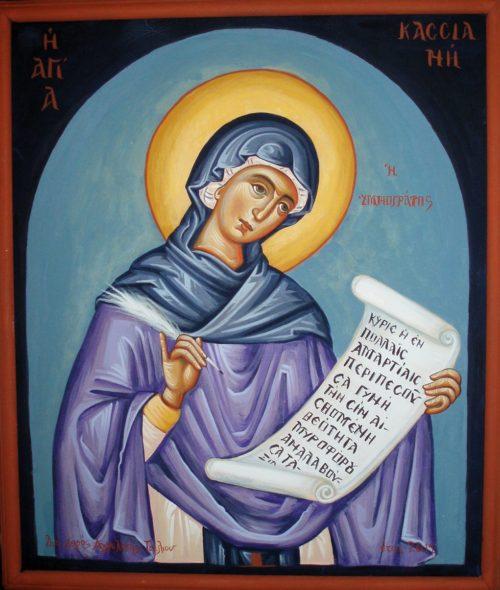 Saint Kassia, a Byzantine Poet and Hymnographer