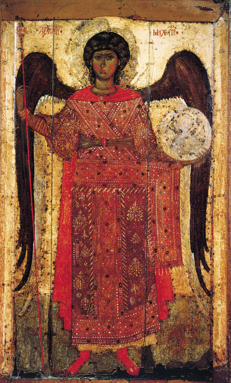 Saint Michael in Russian icons